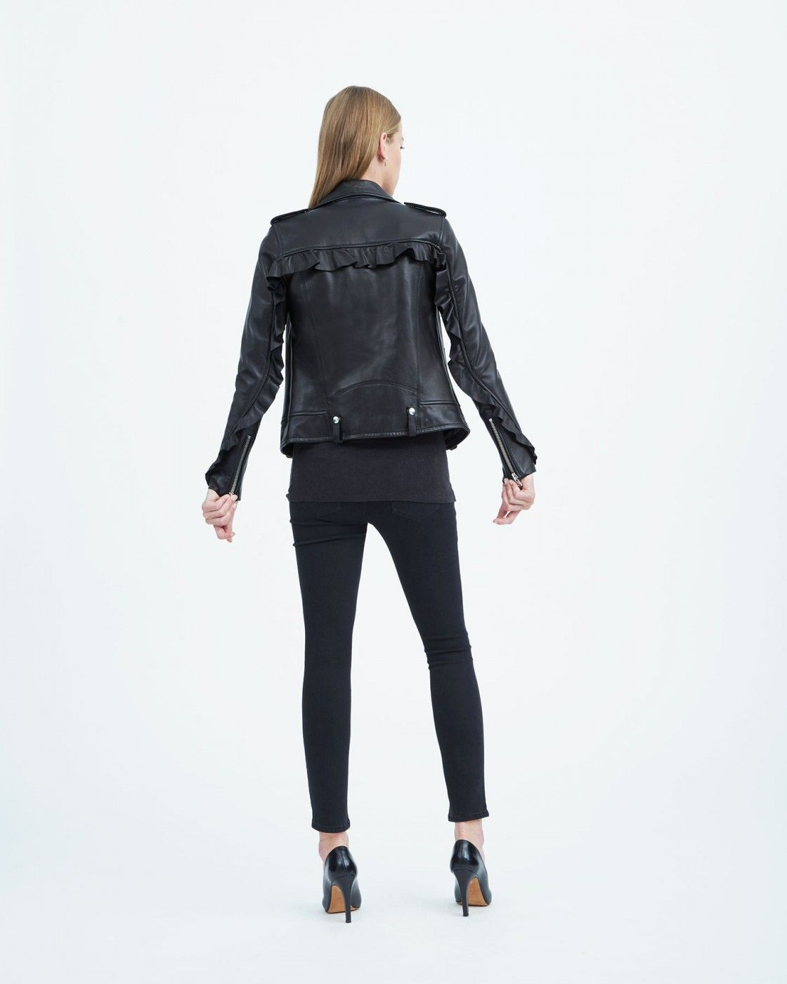 Iro Fall Winter 17 Collection Dumont Leather Jacket Iro Tendencias Invierno [ 1400 x 1120 Pixel ]