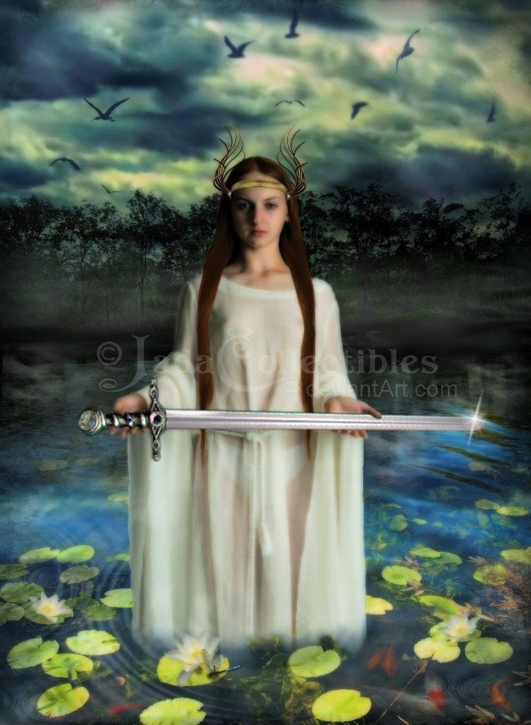 Google Image Result for http://th06.deviantart.net/fs22/PRE/f/2007/325/4/c/Lady_Of_The_Lake_by_JadaCollectibles.jpg