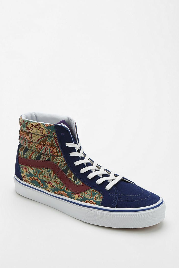 b721cbc5df Vans X Liberty London Sk8-Hi Women s High-Top Sneaker...These are sick!