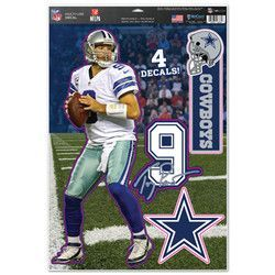 "Dallas Cowboys Tony Romo 11""x17"" Multi-Use Decal Sheet"