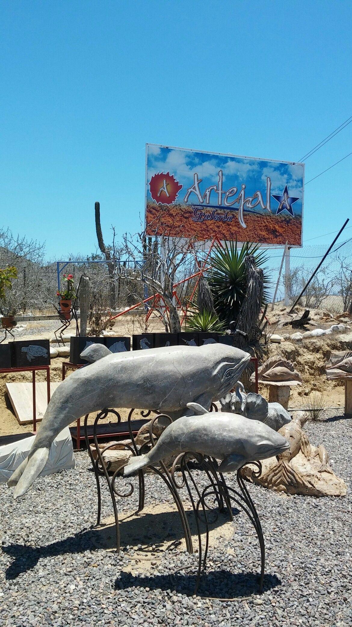 Artejal Pescadero Cerca De La Entrada Para Playa Los Cerritos En  # Muebles Kukulcan