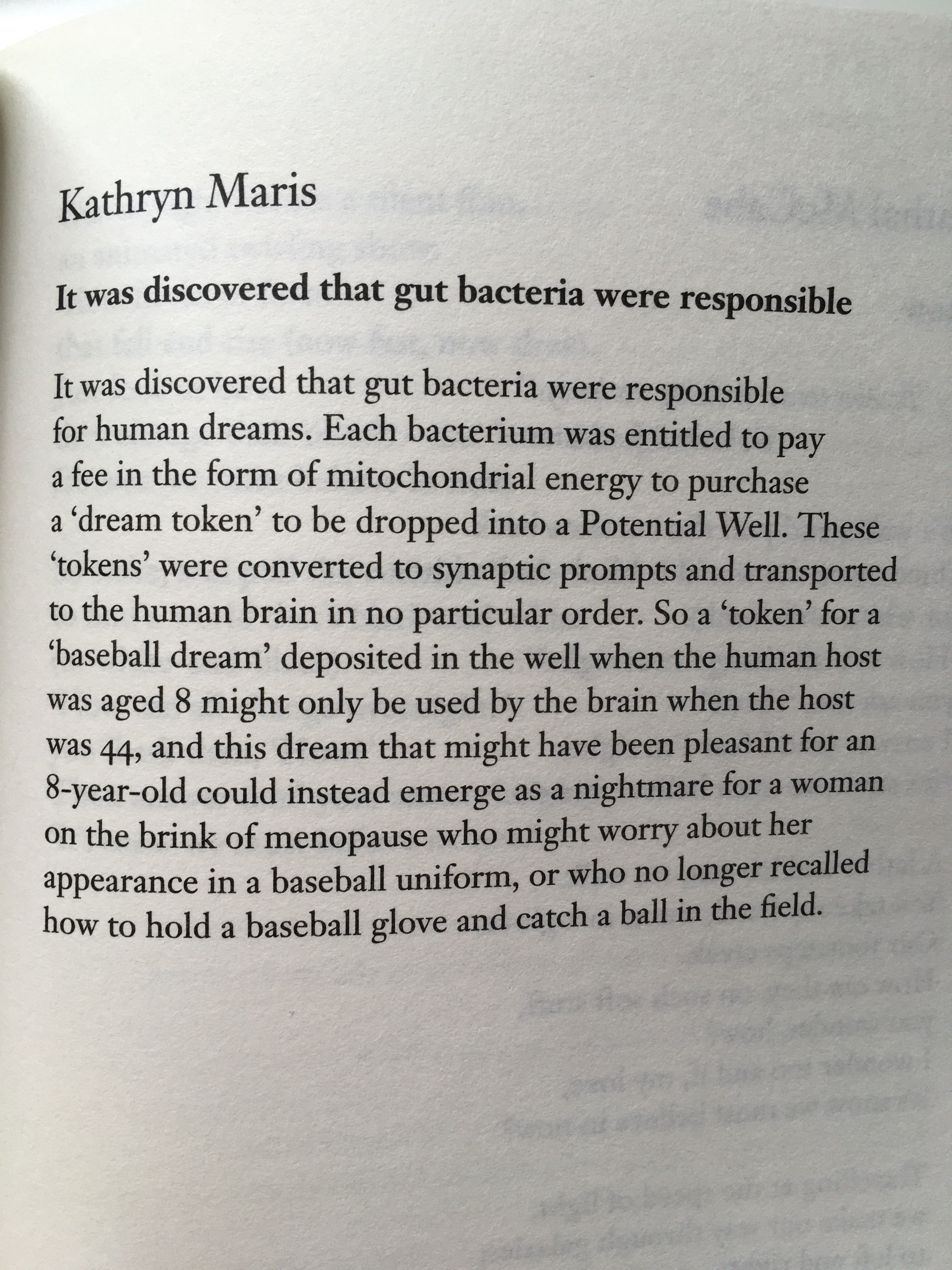 Poem It Was Discovered That Gut Bacteria Were Responsible By Kathryn Maris From The Forward Book Of Poetry 2017 Be Bold Quotes Words Poems