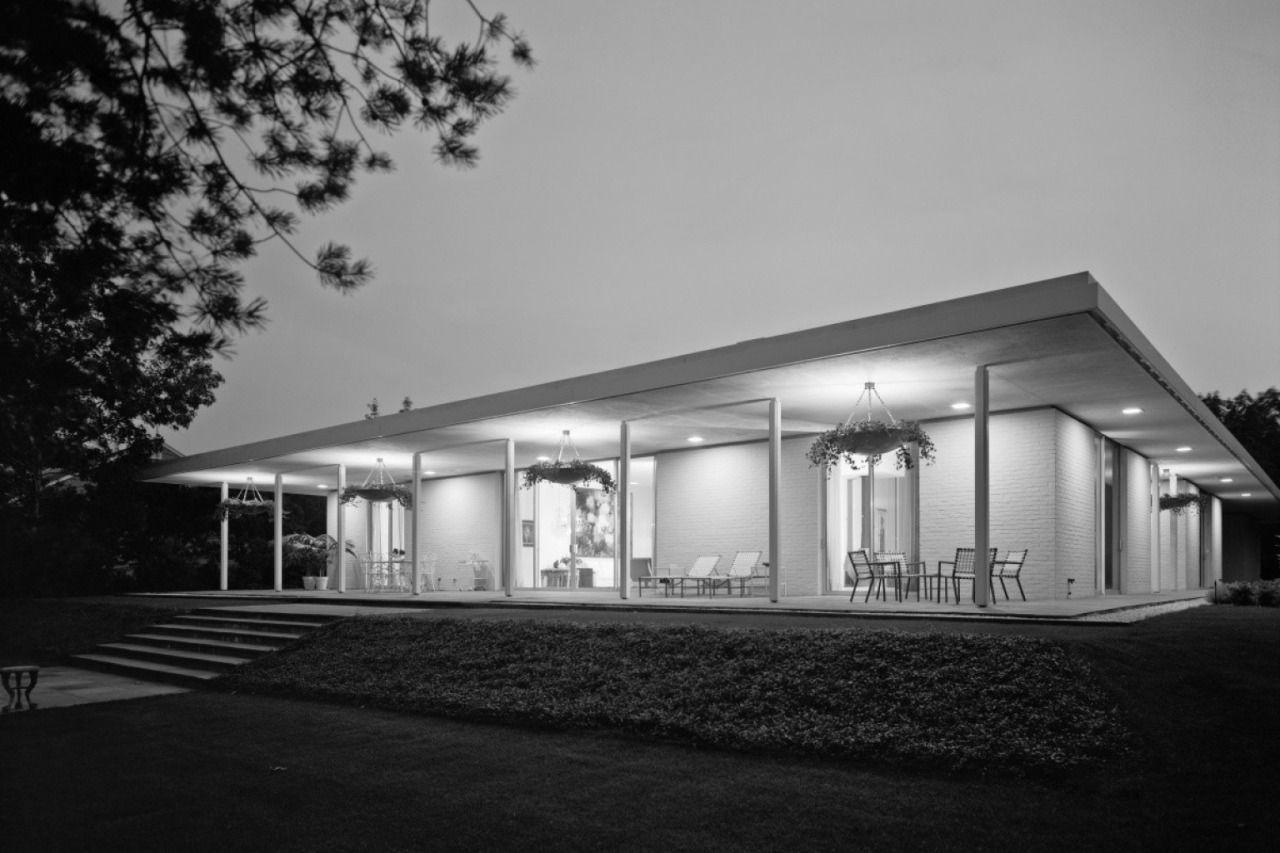 Long Island Modernism 1963 Murray Gordon House | Architect: Edward ...