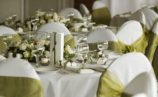 20 photos of wedding table dcor ideas olive green weddings soothing offwhite and olive green wedding table decoration junglespirit Images