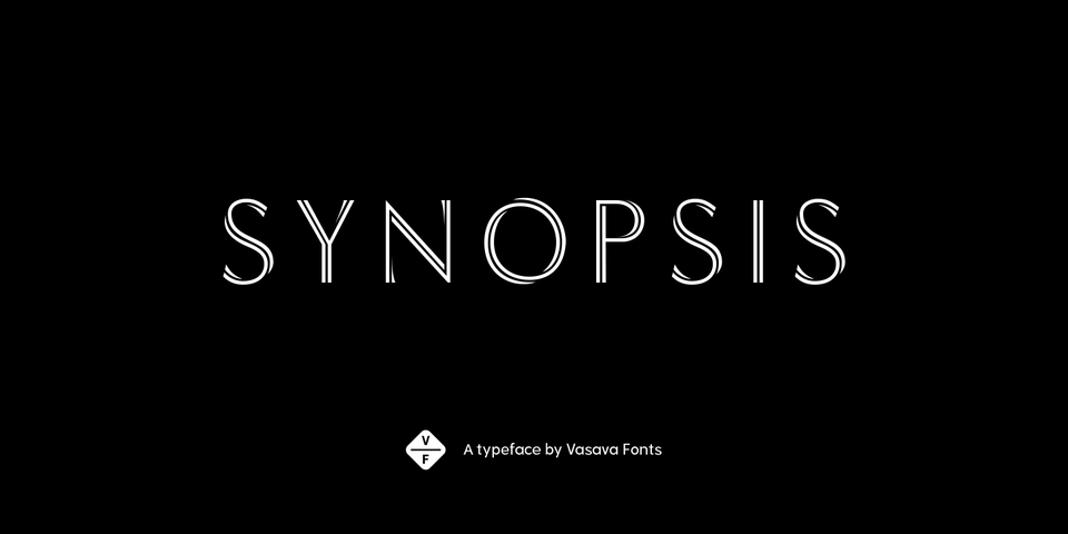 Synopsis by Vasava Fonts