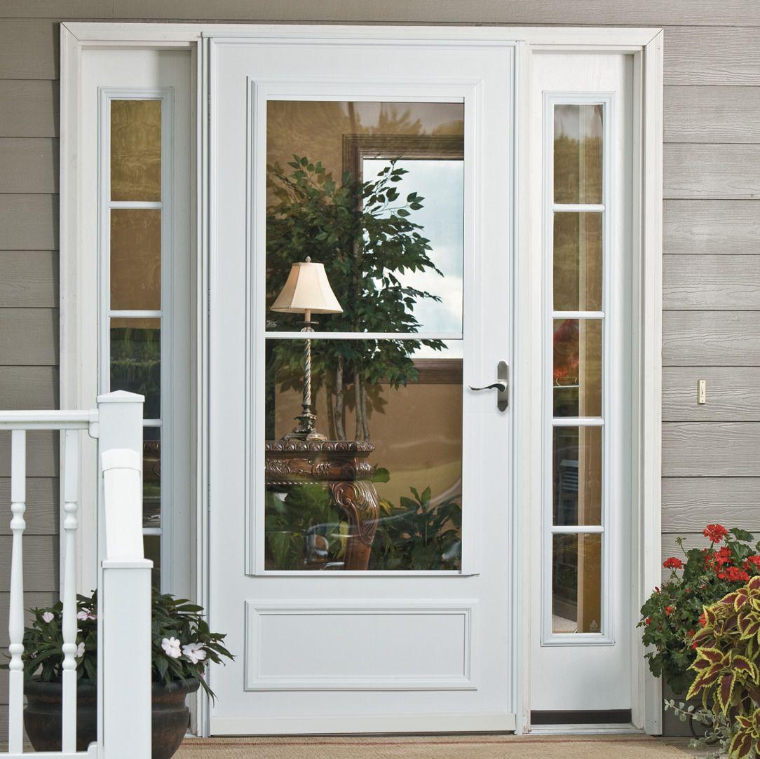 Storm Doors Window World Storm Door Windows And Doors Front Porch Design