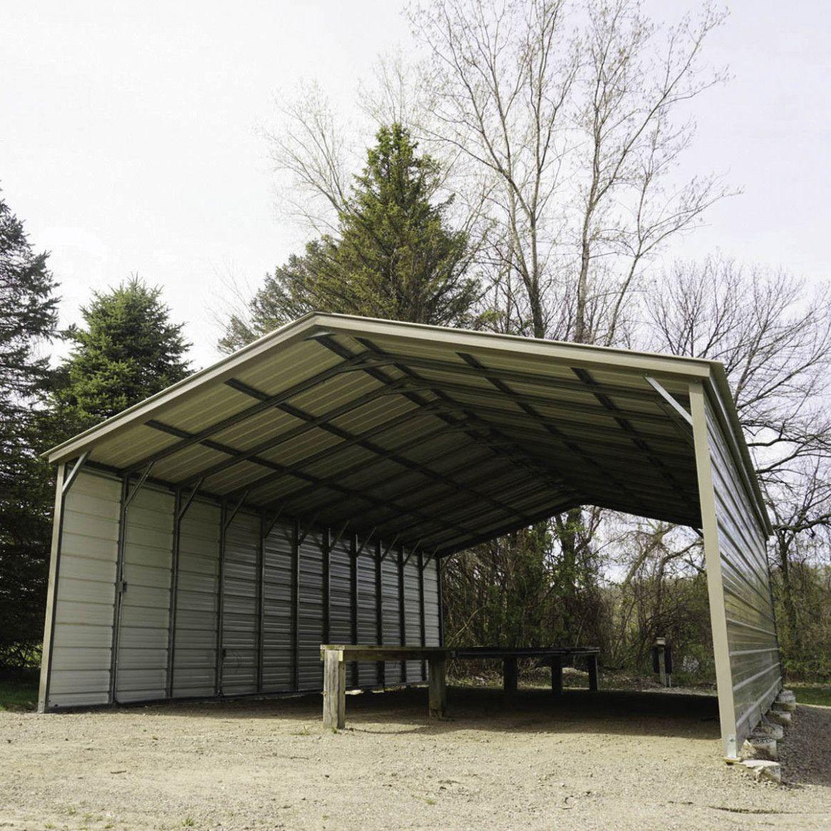 Carport Canopy Metal in 2020 Steel carports, Carport
