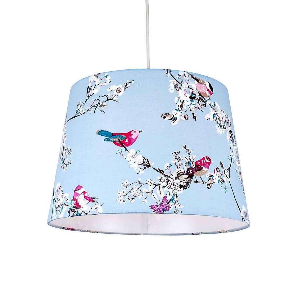 Beautiful Birds Duck Egg Ceiling Light Shade Dunelm Ceiling Light Shades Ceiling Lights Light Shades