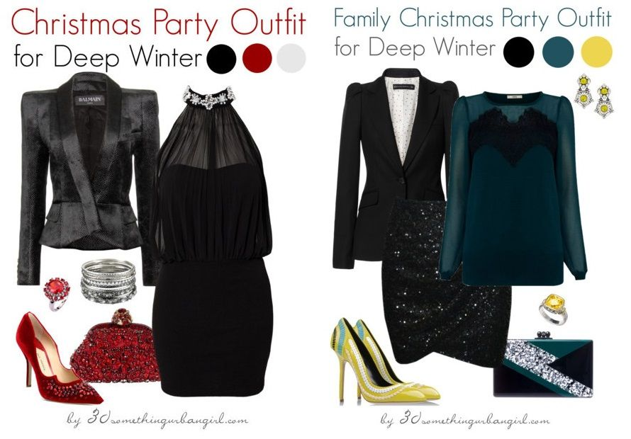 Ordinary Christmas Party Outfits Ideas Part - 11: Chic Christmas Party Outfit Ideas For Deep Autumn And Deep Winter