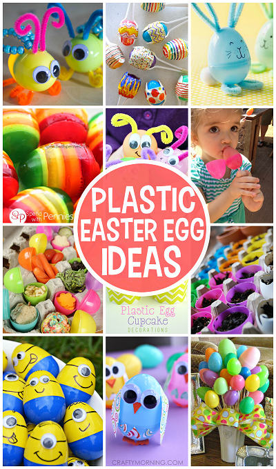 Creative Things To Make Out Of Plastic Easter Eggs Crafts And Diy