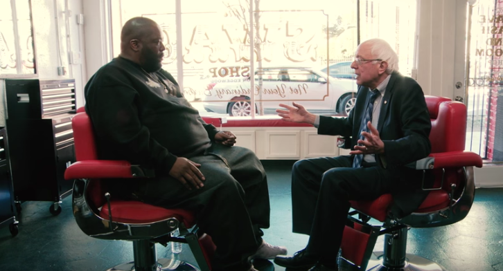 Watch Killer Mike Interview Bernie Sanders in a Barbershop  Read more: http://forward.com/the-assimilator/327303/bernie-sanders-and-killer-mike/#ixzz3ucA0a4My