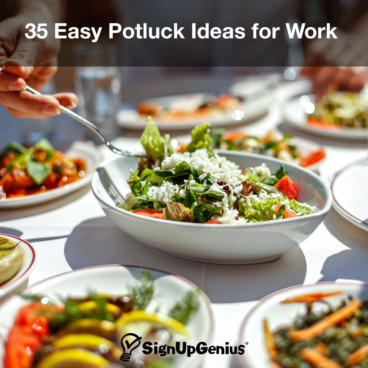 35 Easy Potluck Dishes For Work
