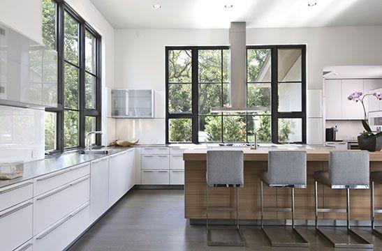 Contemporary kitchen design - Ellerman Homes