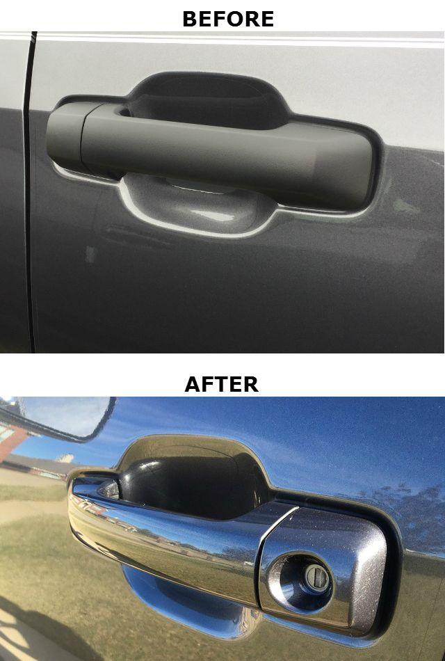 Color Matched Handles And Mirror Caps Crewmax Pktun Kitcr Exterior Door Handles Exterior Doors Door Handles
