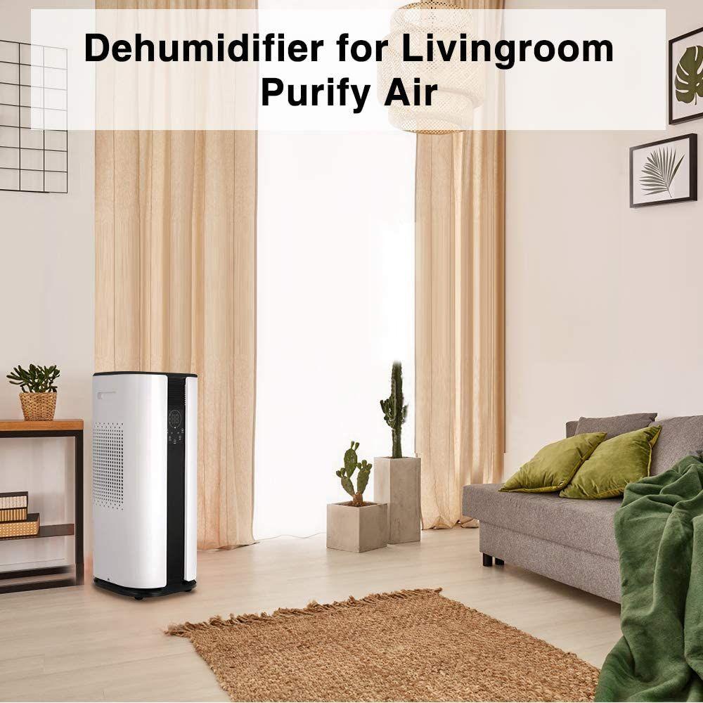 Amazon OULUN 50 pint Portable 2In1 Dehumidifier with Air