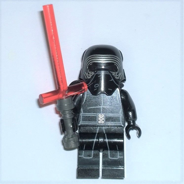 Item Lego Star Wars 2015 Rare Hemet Version Kylo Ren With Saber