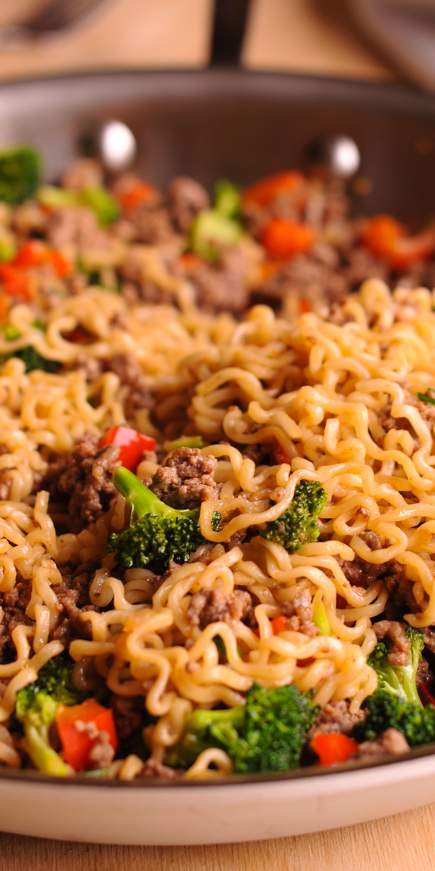 Beef Ramen Noodles Stir Fry Healthy Beef Recipes Healthy Ramen Ground Beef Recipes Easy