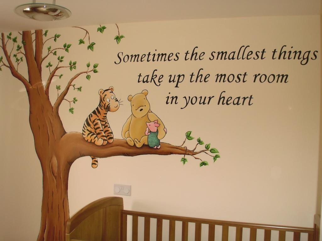 Winnie The Pooh Nursery Www Custommurals Co Uk