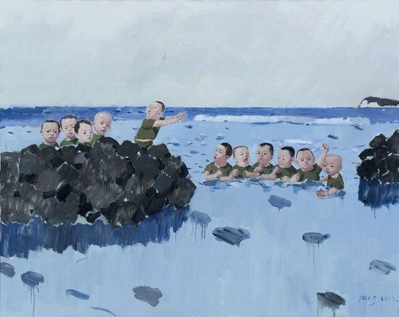 Tang Zhigang, contemporary Chinese painter