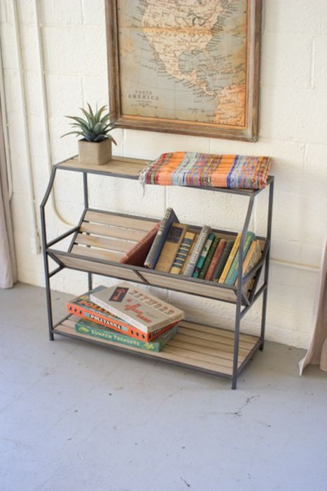this metal library book shelf by country originals is also available with free shipping and norton shopping guarantee - Metal Library Bookshelves