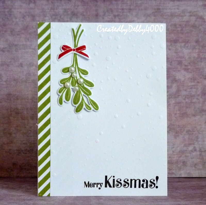 Kissmass By Debby4000 Cards And Paper Crafts At Splitcoaststampers
