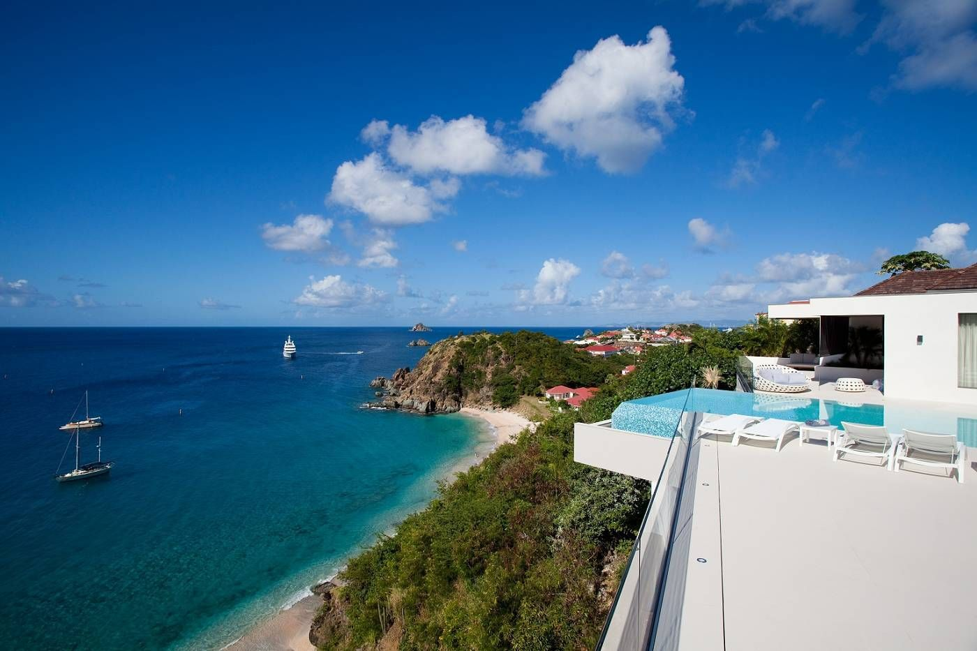 villa rentals and luxury hotels on st barth, st barts, st