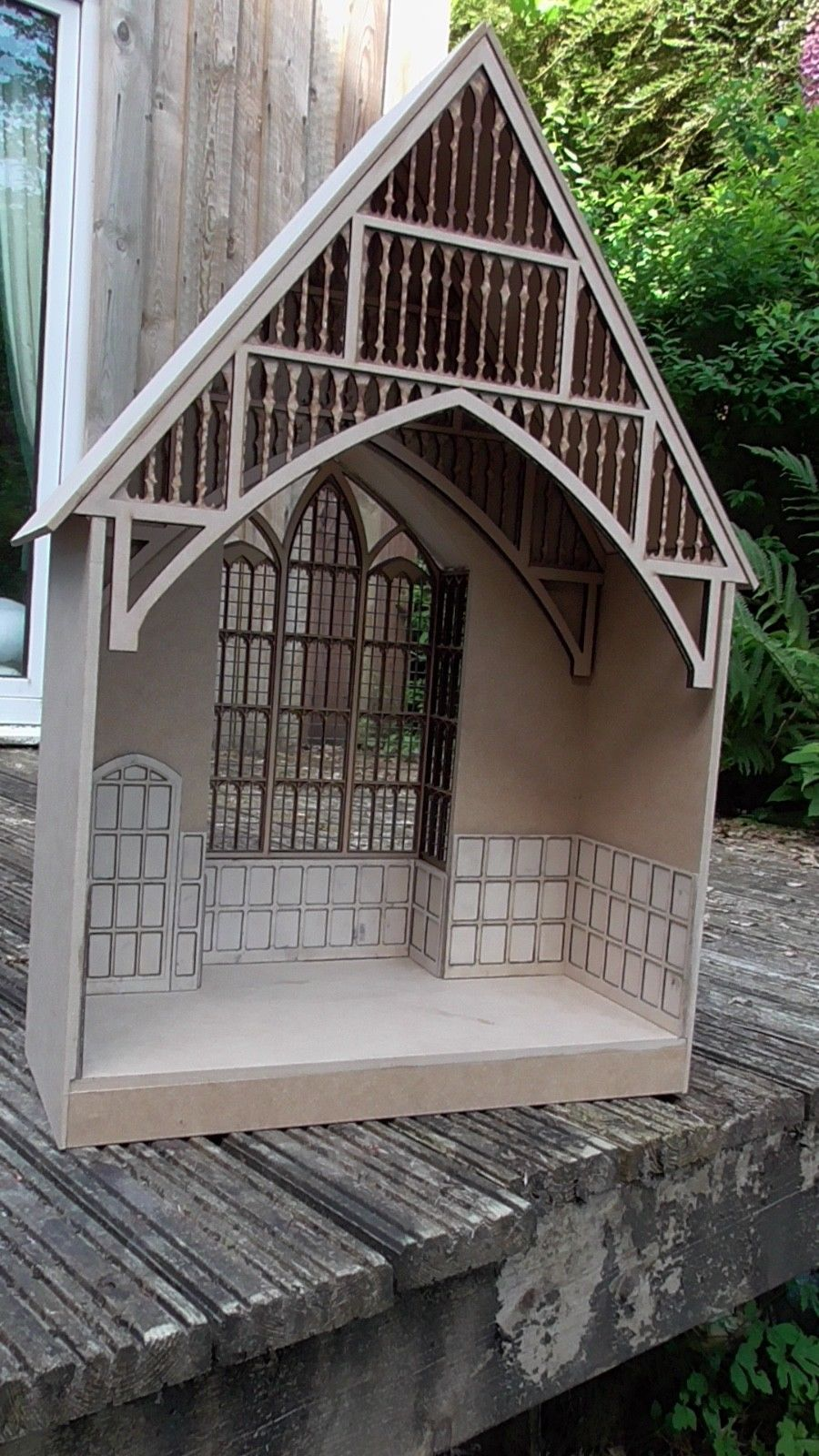 1 12 Scale Dolls House The Great Hall Room Box Inspired By Harry Potter By Dhd Room Box Hall Room Large Dolls House