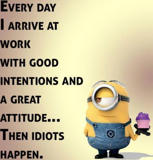 Funny Minions Quotes Of The Day :)…