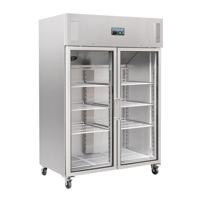 Armario Frigorifico Gastronorm De Puertas De Cristal Polar Locker Storage Storage Lockers