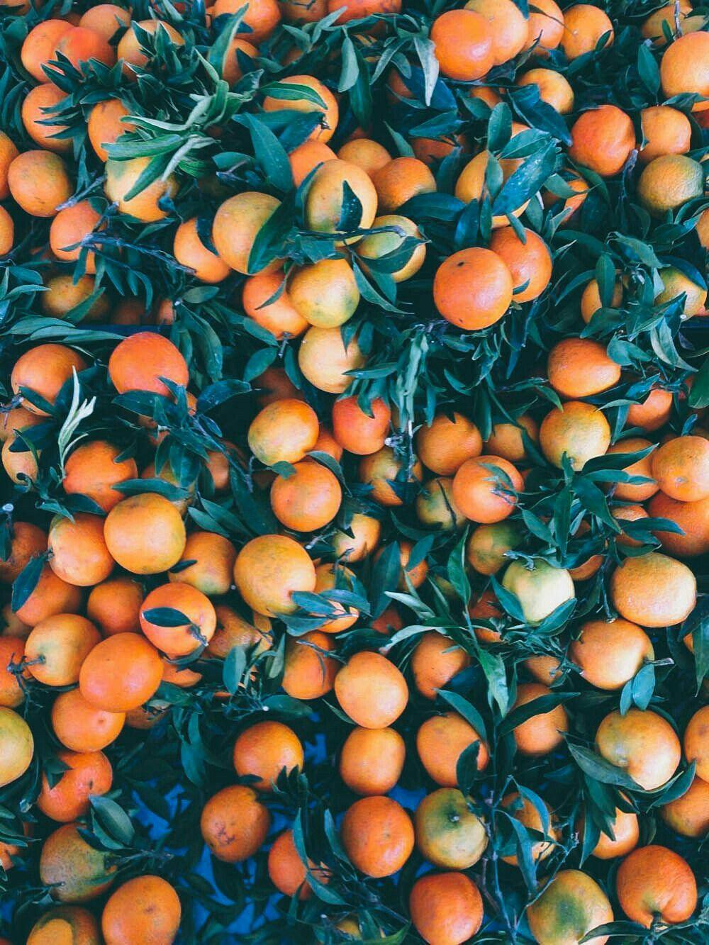 Orange Aesthetic Wallpaper Desktop