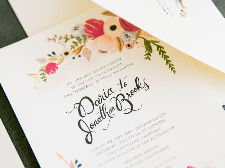 Top Wedding Invitation Tips Invitation design Weddings and Wedding