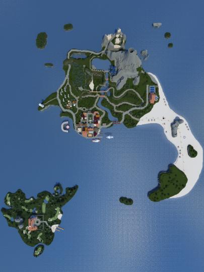 Wii Sports Resort Island Wuhu and Wedge Islands [1.12