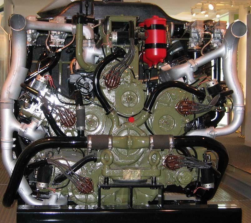 Chrysler Multibank tank engine | Engines | Engineering, Performance