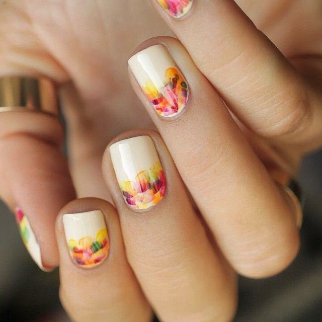 Nails in bloom #ManiMonday #YorkdaleStyle