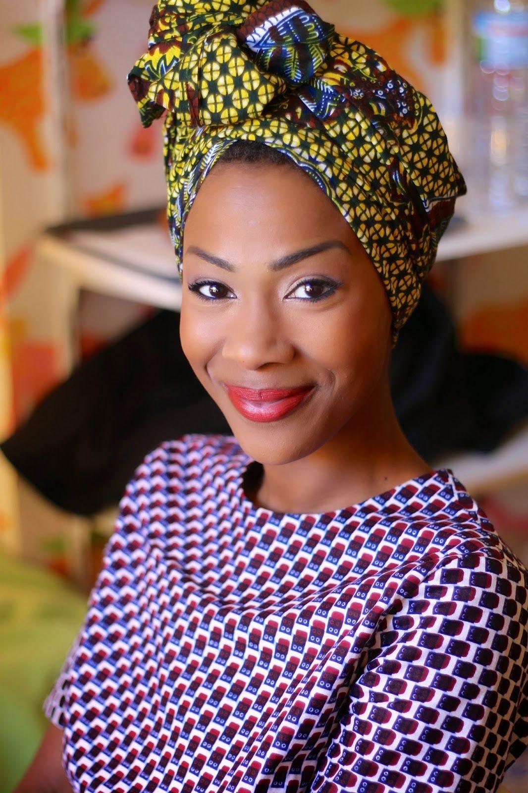 BLACKBEAUTYBAG En pagne Foulard africain, Mode