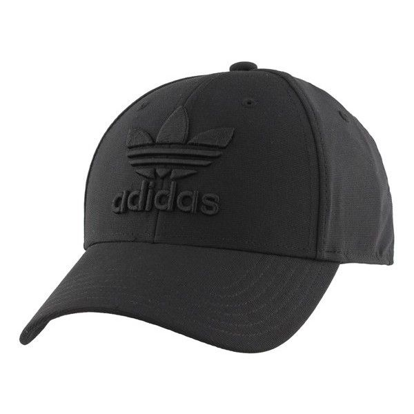 Men s Adidas Originals  Trefoil Precurve  Snapback Cap ( 22) ❤ liked on  Polyvore featuring men s fashion faf2cfaf2da