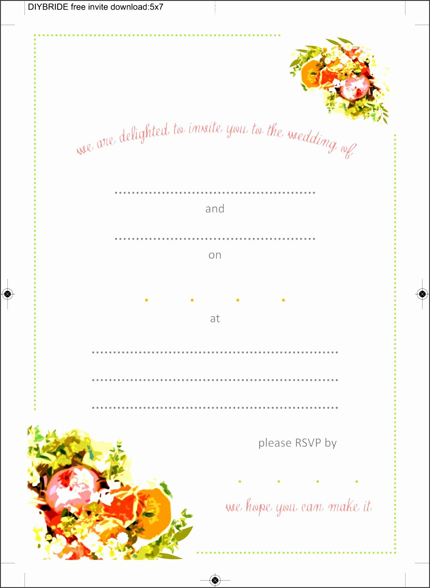 Party Invitation Template Microsoft Word Lovely 4 Ms Word
