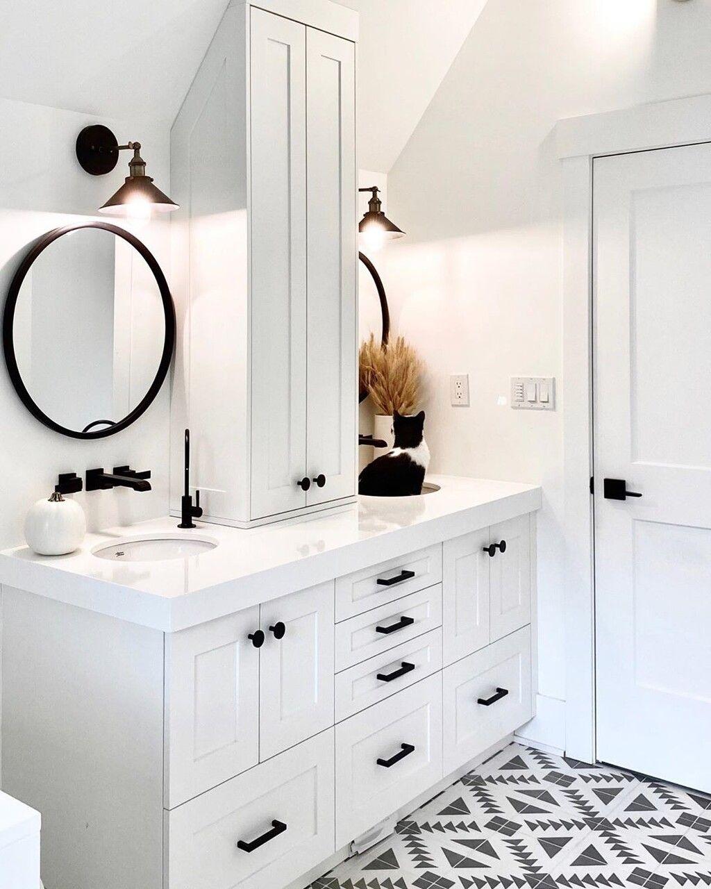 Once suelos inspiradores para el cuarto de baño   Baños ...