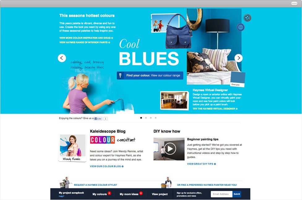 Case Studies Bliss Media Case Study Digital Agencies Colour Consultant