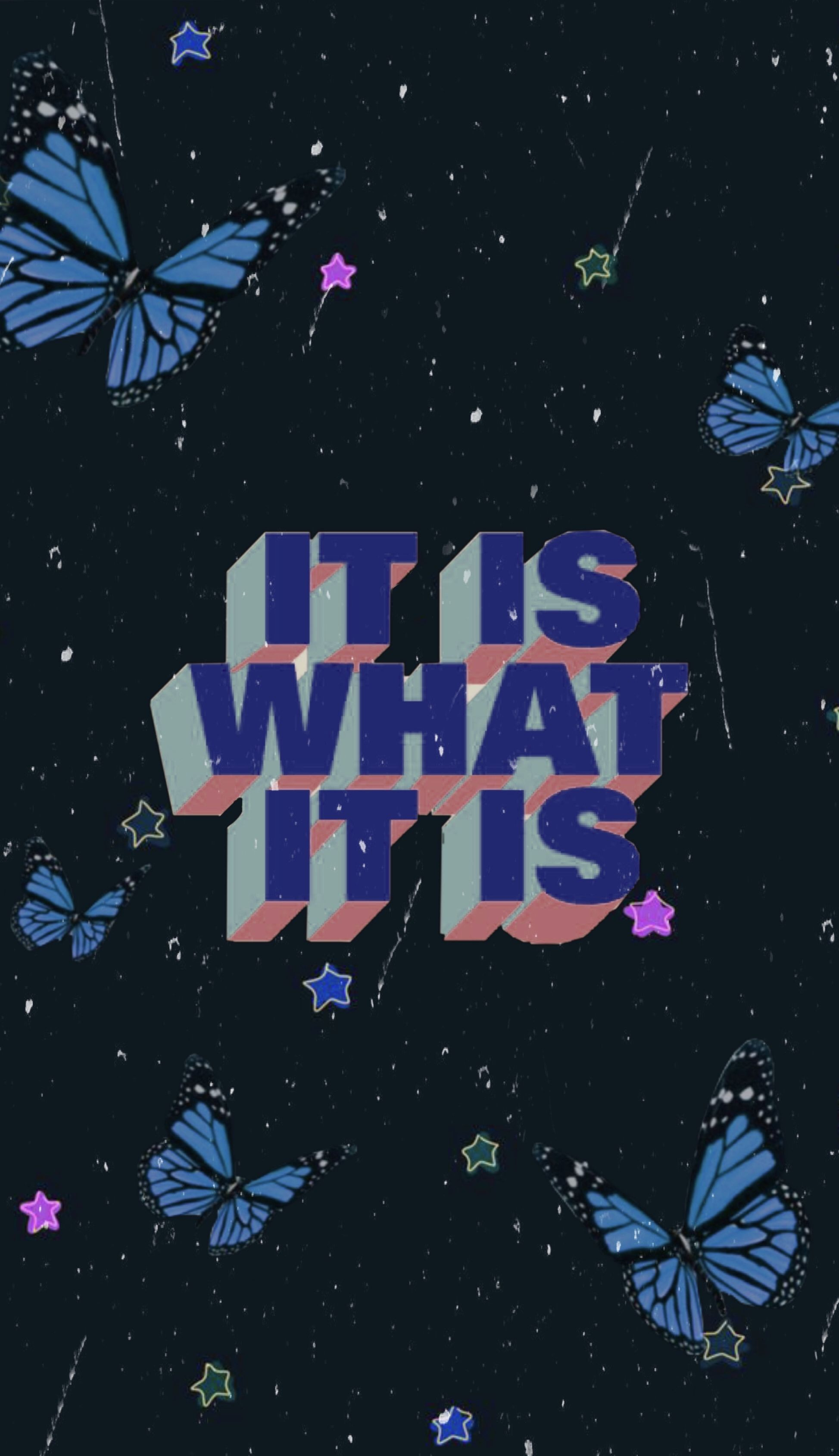 Vsco butterfly quote wallpaper
