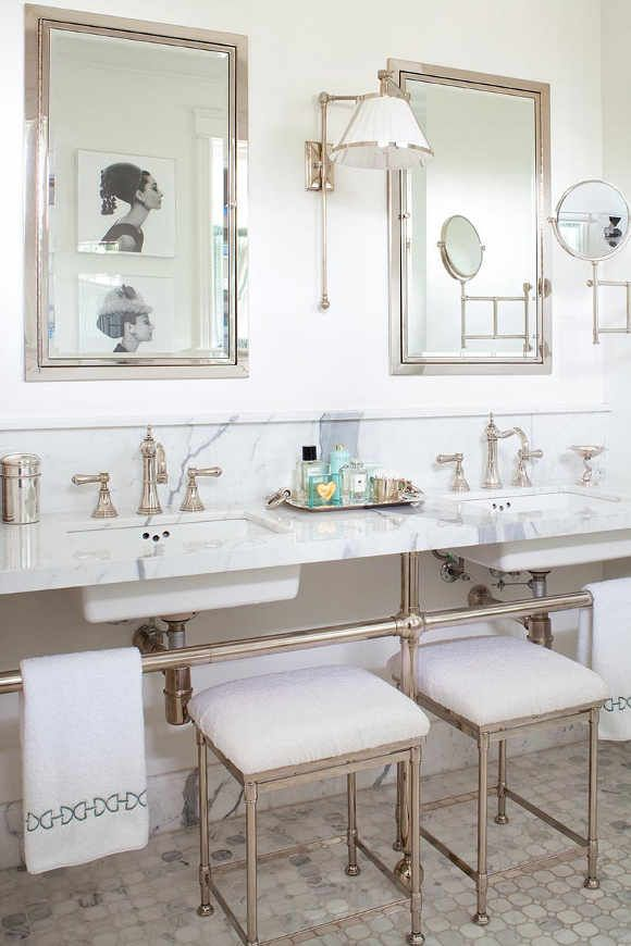 A Luxurious Bathroom By Anne Hepfer Worthy Of Audrey Hepburn 2