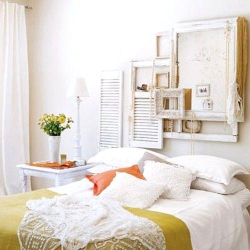 Ideas de Decoracin de Dormitorios Romnticos y Rsticos Shabby