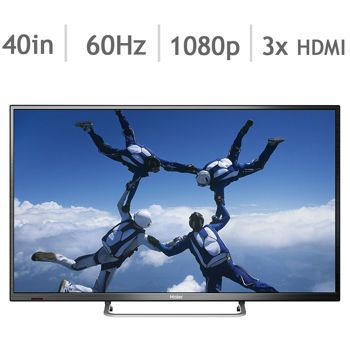 Haier 40D3505 40-in. 1080p LED HDTV* $314.99