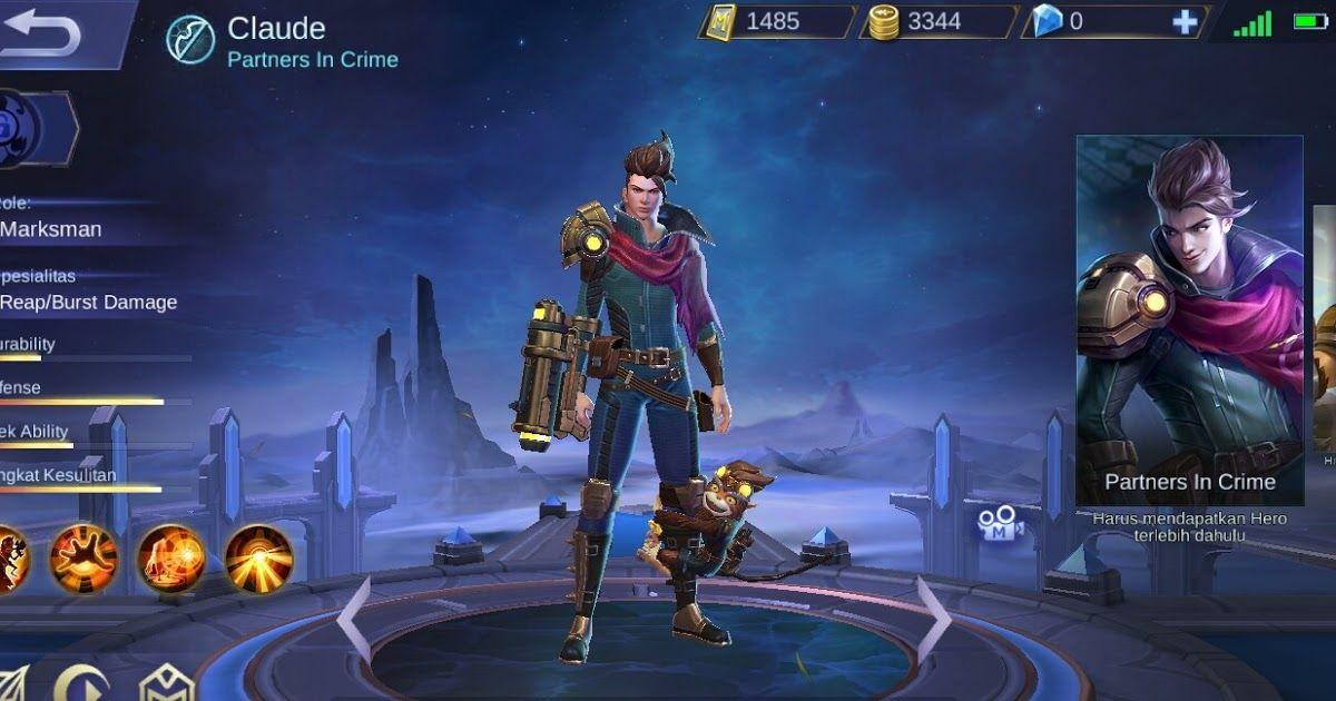 Set Build Emblem, Ability, Gear Claude Tersakit Penyimpanan