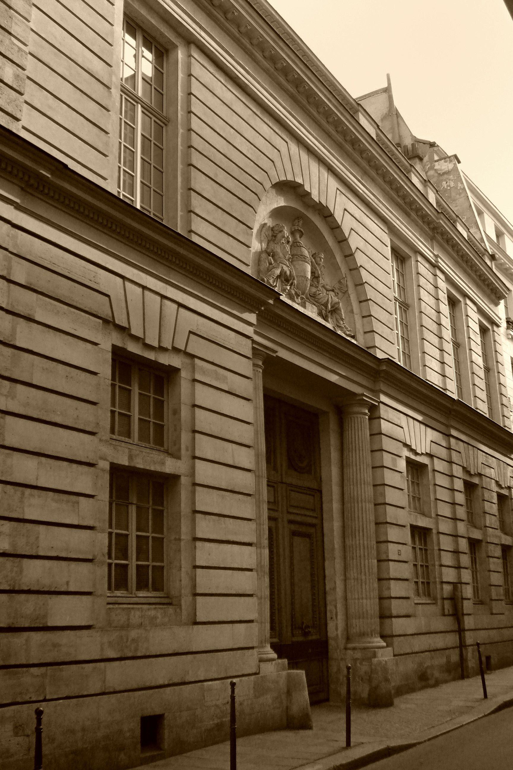 H´tel d Hallwyl by Ledoux 1766 rue Michel le te 28 Paris