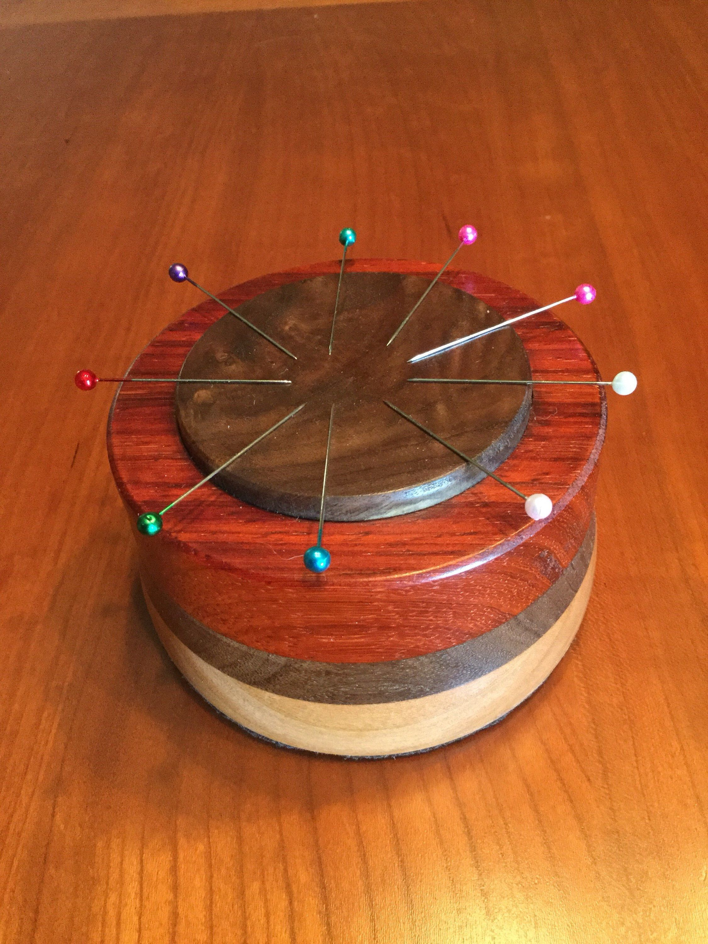 little hexie needle caddy | Pin cushions patterns, Pin