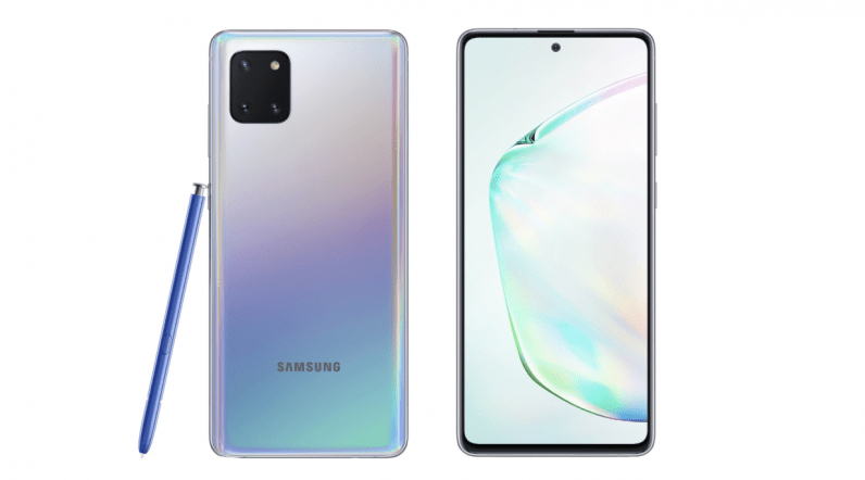 Samsung Reveals S10 And Note 10 Lite Its New Budget Flagships Samsung Samsung Galaxy Phone Reveal