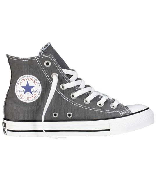 45e5fa816bab35 CONVERSE Chuck Taylor All Star Classic Colours Charcoal. CONVERSE Chuck  Taylor All Star Classic Colours Charcoal Black High Top Shoes