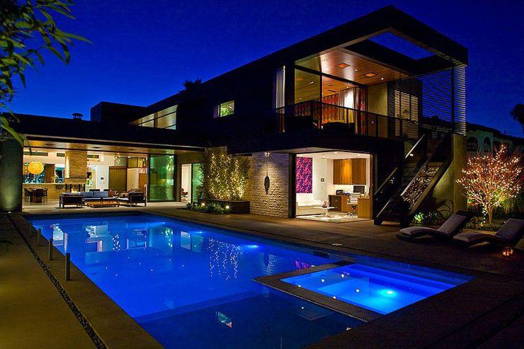Superbe maison d architecte los angeles la terrasse for Recherche piscine