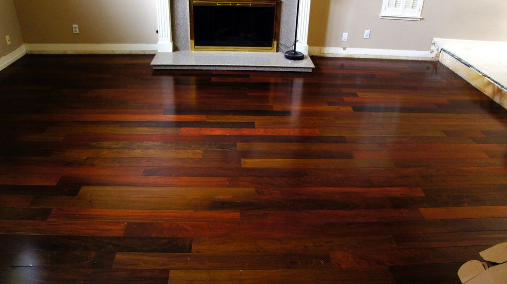 Brazilian Walnut Ipe Hardwood Flooring By Simplefloors Brazilian